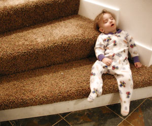 Sleep Deprived? You'll Sleep Anywhere!