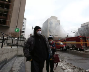Air Quality Challenges - Toronto Racquet Club Fire